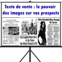 Texte de vente: Le pouvoir des images sur vos prospects
