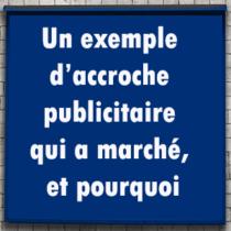 accroche publicitaire et copywriting