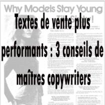 copywriting: les conseils de maître copywriters