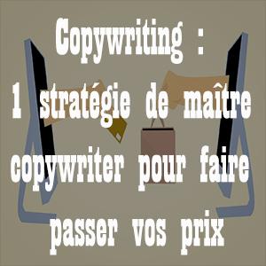 Copywriting, une stratégie de maître copywriter