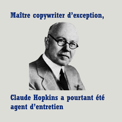 copywriter claude hopkins et copywriting