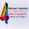 Copywriting et marketing: les 4 étapes de vente et de clientelle