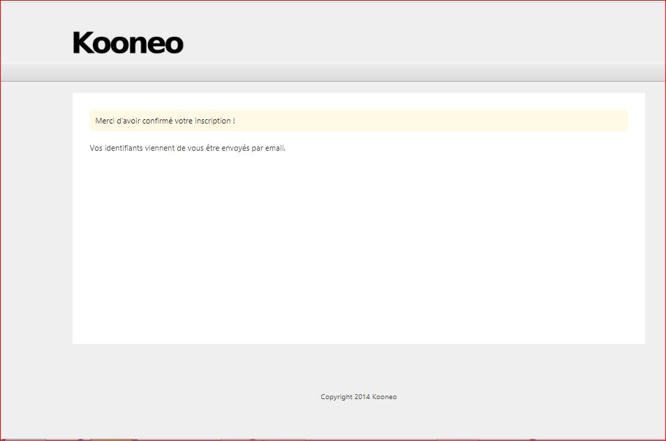 Programme d'affiliation copywriting  la page kooneo
