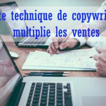 les techniques de copywriting pour faire des ventes